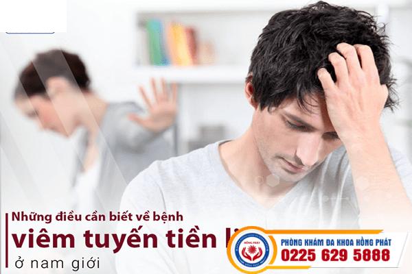 Viêm tuyến tiền liệt và những nguy hiểm khôn lường cho nam giới
