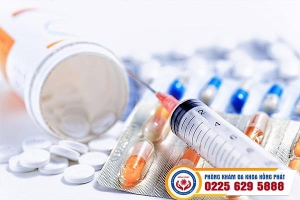 Phương pháp nội khoa điều trị bệnh mụn rộp sinh dục