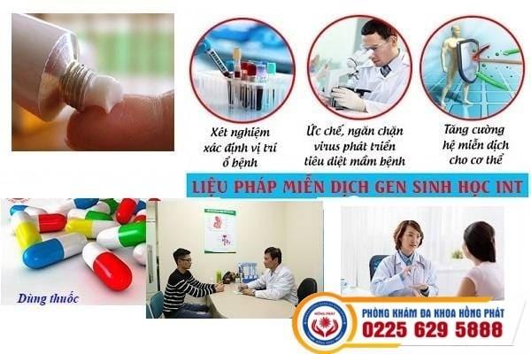 Chữa trị mụn nước ở môi hiệu quả an toàn tại Phòng khám đa khoa Hồng Phát