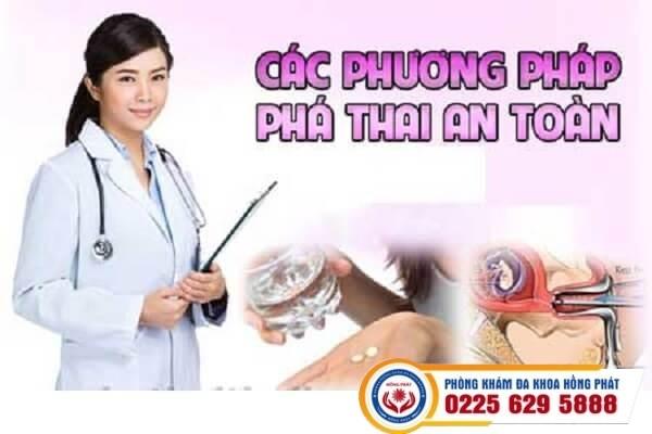 Phương pháp nạo hút thai an toàn tại phòng khám Hồng Phát