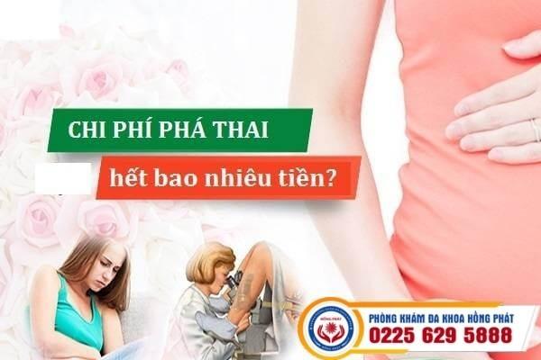 Chi phí phá thai tại phòng khám Hồng Phát Hải Phòng