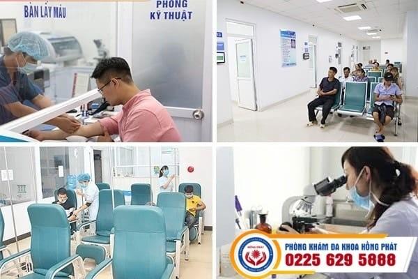 Môi trường khám chữa bệnh tại Phòng khám đa khoa Hồng Phát