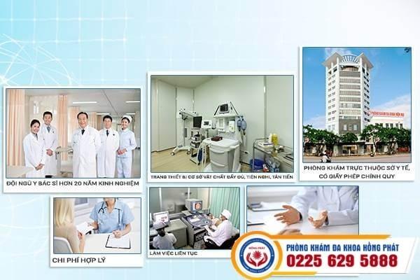 Đa khoa Hồng Phát Phòng khám có cơ sở vật chất đạt chuẩn quốc tế