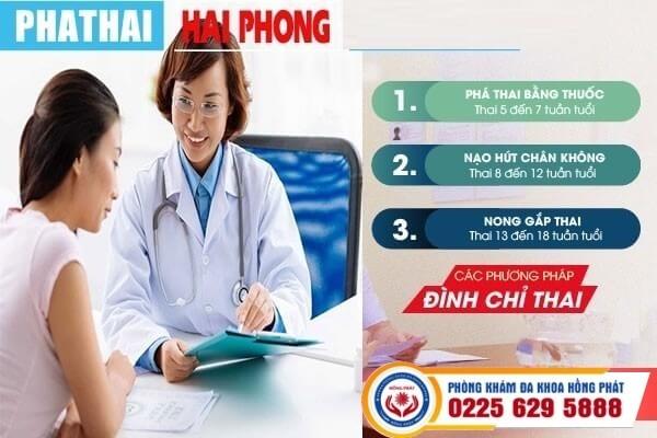 Phương pháp đình chỉ thai kỳ hiệu quả tại Hồng Phát