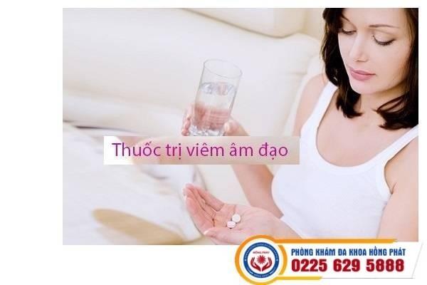 Thuốc trị viêm âm đạo phụ khoa hiệu quả
